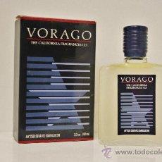 Miniaturas de perfumes antiguos: VORAGO MYRURGIA AFTER SHAVE EMULSION 100 ML.. Lote 33635751