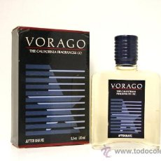 Miniaturas de perfumes antiguos: VORAGO MYRURGIA AFTER SHAVE 100 ML.. Lote 42551348