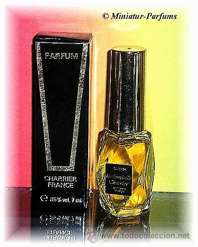 MINIS** PARFUM** DE 7 ML** MADEMOISELLE CHARRIER** CON CAJA (Miniaturas de Perfumes.)