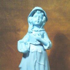 Miniaturas de perfumes antiguos: FRASCO DE COLONIA AVON LITTLE GIRL BLUE CHARISMA, DE 90 C.C. COLOR AZUL.. Lote 53325310