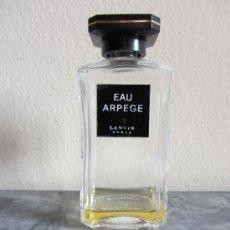 Miniaturas de perfumes antiguos: FRASCO VACÍO PERFUME EAU ARPEGE DE LANVIN. FRANCIA. 1990. Lote 35863765