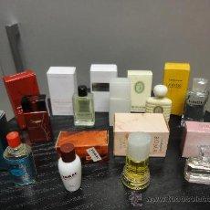 Miniaturas de perfumes antiguos: LOTE 9 PERFUMES - PERFUME EN MINIATURA. Lote 36283729