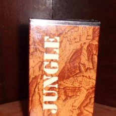 Miniaturas de perfumes antiguos: COLONIA DESCATALOGADA JUNGLE 100 ML. Lote 36650991