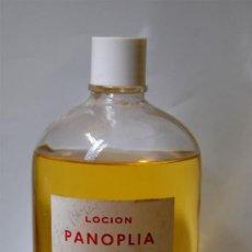 Miniaturas de perfumes antiguos: FRASCO DE COLONIA GRANEL LOCION PANOPLIA ELABORADO POR TOGA 1 LITRO. Lote 36760449