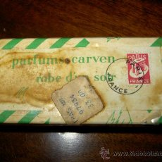 Miniaturas de perfumes antiguos: CARVEN ROBE D´UN SOIR 1947 PARIS . Lote 36754562