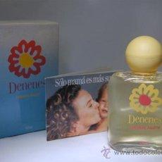 Miniaturas de perfumes antiguos: FRASCO DE COLONIA DENENES BOTELLA. Lote 36768153