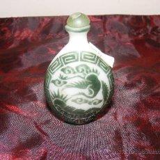 Miniaturas de perfumes antiguos: TABAQUERA CHINA. Lote 37356088