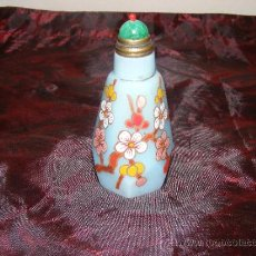 Miniaturas de perfumes antiguos: TABAQUERA CHINA. Lote 37356122