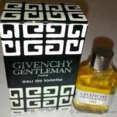 Miniaturas de perfumes antiguos: MINI BOTELLA DE COLONIA DE GIVENCHY-GENTLEMAN DE 3 M/L.. Lote 184110826