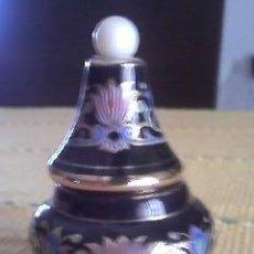 Miniaturas de perfumes antiguos: MINIATURA DE PERFUME EN PORCELANA, GRECIA PERFUME EN CREMA.. Lote 39225241