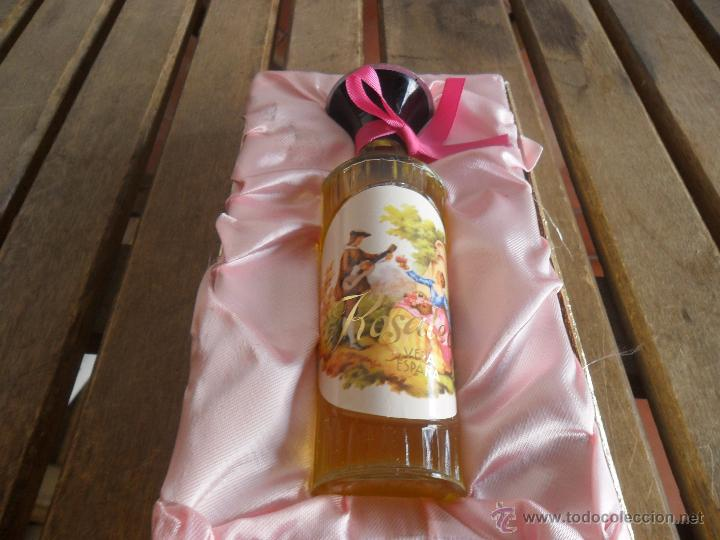 Miniaturas de perfumes antiguos: ESTUCHE DE COLONIA ROSALEDA DE VERA LE FALTA LA PASTILLA - Foto 2 - 40988072