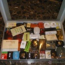 Miniaturas de perfumes antiguos: COLECCION DE JABONES DIVERSOS HOTELES DESDE AÑOS 60. Lote 41236532