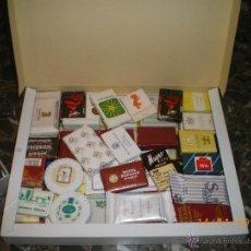 Miniaturas de perfumes antiguos: COLECCION DE JABONES DIVERSOS HOTELES DESDE AÑOS 60. Lote 41236542
