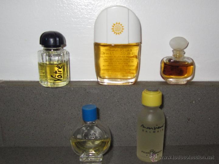 5 MINIATURAS DE PERFUMES COLECCION (Coleccionismo - Miniaturas de Perfumes)