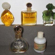 Miniaturas de perfumes antiguos: 5 MINIATURAS DE PERFUMES COLECCION. Lote 41981061