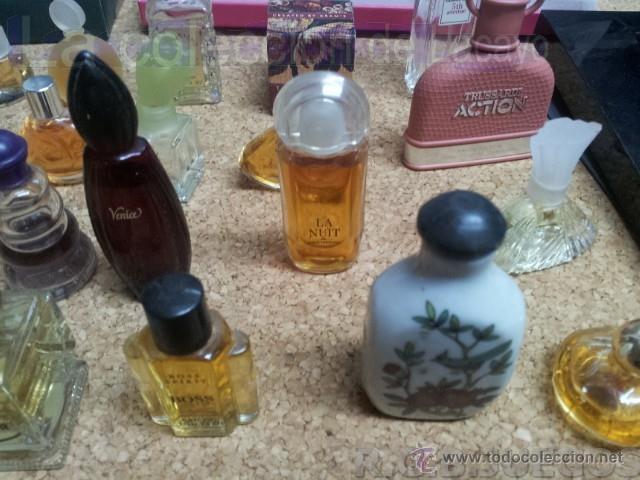 Miniaturas de perfumes antiguos: COLECCION DE 120 PERFUMES MINIATURAS GRANDES MARCAS Y ANTIGUOS - Foto 11 - 42809244