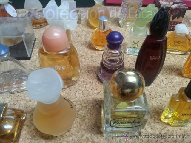 Miniaturas de perfumes antiguos: COLECCION DE 120 PERFUMES MINIATURAS GRANDES MARCAS Y ANTIGUOS - Foto 12 - 42809244