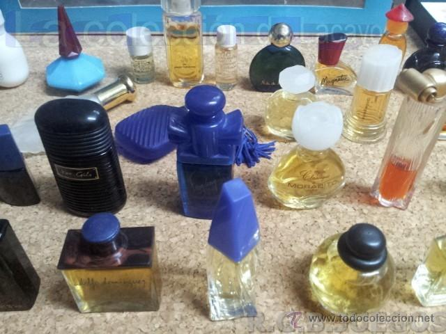 Miniaturas de perfumes antiguos: COLECCION DE 120 PERFUMES MINIATURAS GRANDES MARCAS Y ANTIGUOS - Foto 15 - 42809244