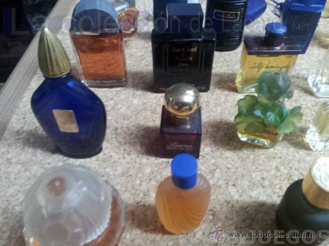 Miniaturas de perfumes antiguos: COLECCION DE 120 PERFUMES MINIATURAS GRANDES MARCAS Y ANTIGUOS - Foto 17 - 42809244