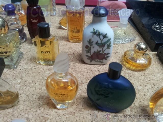 Miniaturas de perfumes antiguos: COLECCION DE 120 PERFUMES MINIATURAS GRANDES MARCAS Y ANTIGUOS - Foto 24 - 42809244