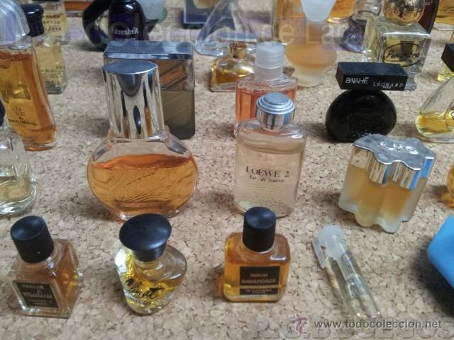 Miniaturas de perfumes antiguos: COLECCION DE 120 PERFUMES MINIATURAS GRANDES MARCAS Y ANTIGUOS - Foto 26 - 42809244