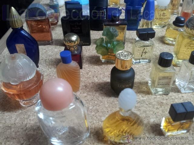 Miniaturas de perfumes antiguos: COLECCION DE 120 PERFUMES MINIATURAS GRANDES MARCAS Y ANTIGUOS - Foto 29 - 42809244