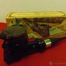 Miniaturas de perfumes antiguos: FRASCO BOTELLA PERFUME COLONIA AVON PIPA CAPITAN MARINO DE COLECCION EN SU CAJA ORIGINAL Y LLENA AUN. Lote 43377076