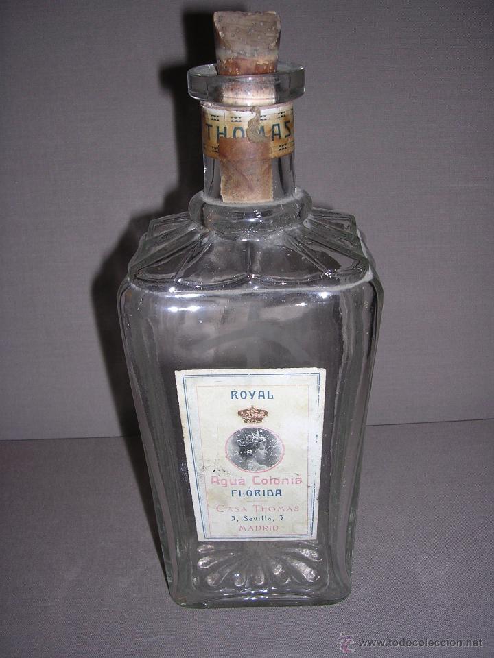 m) botella de perfume royal casa thomas agua c - Comprar Miniaturas ...