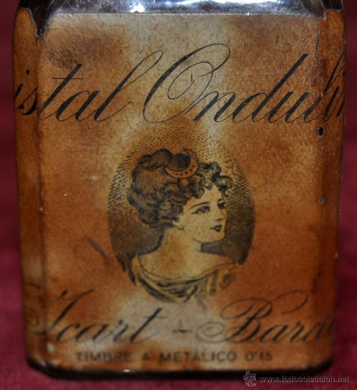 Miniaturas de perfumes antiguos: LOTE DE 10 BOTELLAS DE PERFUME ANTIGUAS, VARIOS MODELOS Y AÑOS - Foto 36 - 114979546