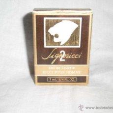 Miniaturas de perfumes antiguos: MINIATURA EAU DE TOILETTE SIGNORICCI 2 POUR HOMME DE NINA RICCI(7 ML-1/4FL.OZ.)MADE IN FRANCE. Lote 45339806