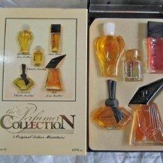 Miniaturas de perfumes antiguos: 5 MINIFRASCOS DE PERFUME PERFUMER COLLECTION. Lote 45413007