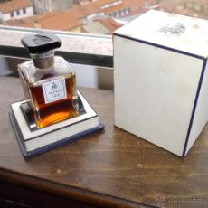 Miniaturas de perfumes antiguos: RARO PERFUME ARPEGE LANVIN PRECINTADO BOTELLA EXTRAIT PARIS FRANCE ESTUCHE ORIGINAL 1954 PERFUMERO. Lote 46769657