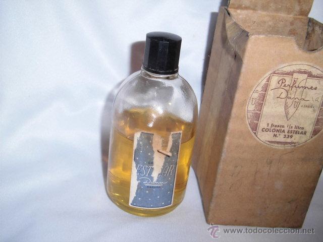 ANTIGUO FRASCO DE COLONIA ESTELAR DE DANA TIENE LA ETIQUETA ALGO AJADA (Coleccionismo - Miniaturas de Perfumes)