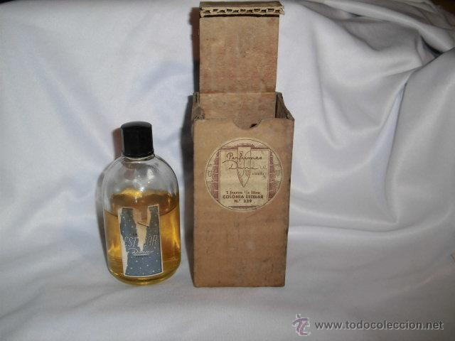 Miniaturas de perfumes antiguos: ANTIGUO FRASCO DE COLONIA ESTELAR DE DANA TIENE LA ETIQUETA ALGO AJADA - Foto 2 - 46816017