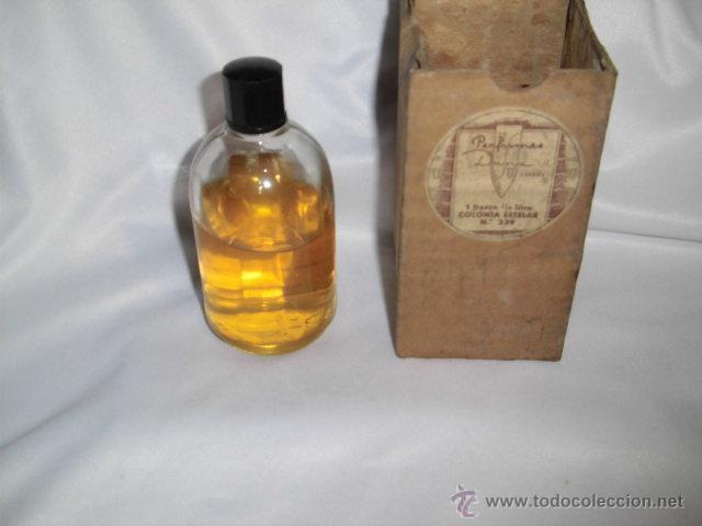 Miniaturas de perfumes antiguos: ANTIGUO FRASCO DE COLONIA ESTELAR DE DANA TIENE LA ETIQUETA ALGO AJADA - Foto 4 - 46816017