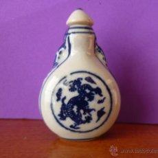 Miniaturas de perfumes antiguos: PERFUMERO DE CERÁMICA - PINTADO A MANO. . Lote 46897397