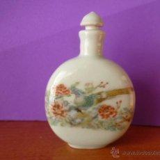 Miniaturas de perfumes antiguos: PERFUMERO DE CERÁMICA - FIRMADO.. Lote 193197781