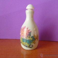 Miniaturas de perfumes antiguos: PERFUMERO DE CERÁMICA - FIRMADO. . Lote 46899882