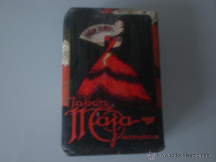 Miniaturas de perfumes antiguos: MYRURGIA-JABON MAJA - Foto 2 - 47752868