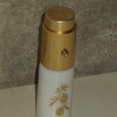 Miniaturas de perfumes antigos: VINTAGE PERFUMERO DE BOLSO OPALINA BLANCA.. Lote 47758120