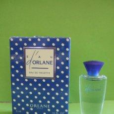Miniaturas de perfumes antiguos: MINIATURA ORLANE - 5 ML EAU D'ORLANE - EAU DE TOILETTE - CON CAJA ORIGINAL. Lote 47875909