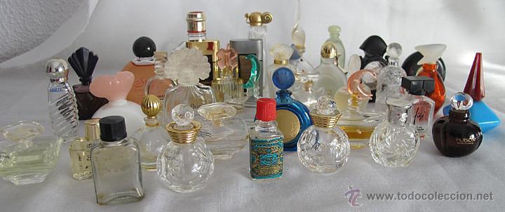 LOTE DE 38 MINIATURAS DE PERFUME DIOR GIVENCHY LANCOME CARTIER Y OTRAS (Coleccionismo - Miniaturas de Perfumes)