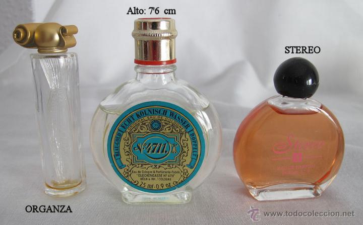 Miniaturas de perfumes antiguos: LOTE DE 38 MINIATURAS DE PERFUME DIOR GIVENCHY LANCOME CARTIER Y OTRAS - Foto 3 - 115775716
