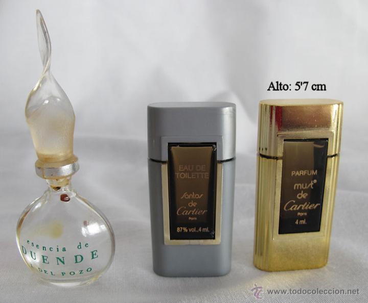 Miniaturas de perfumes antiguos: LOTE DE 38 MINIATURAS DE PERFUME DIOR GIVENCHY LANCOME CARTIER Y OTRAS - Foto 4 - 115775716