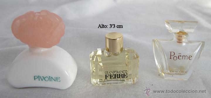 Miniaturas de perfumes antiguos: LOTE DE 38 MINIATURAS DE PERFUME DIOR GIVENCHY LANCOME CARTIER Y OTRAS - Foto 8 - 115775716