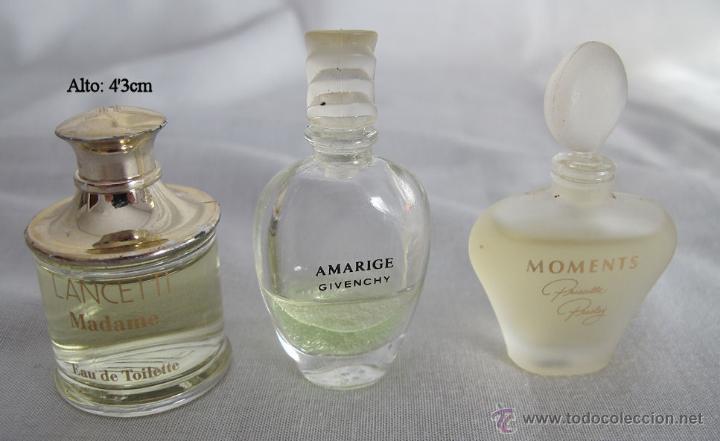 Miniaturas de perfumes antiguos: LOTE DE 38 MINIATURAS DE PERFUME DIOR GIVENCHY LANCOME CARTIER Y OTRAS - Foto 9 - 115775716