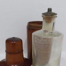 Miniaturas de perfumes antiguos: ANTIGUA BOTELLA ENVASE PARA PERFUME- PERFUMERIA GAL MADRID AÑOS 50. Lote 49077506