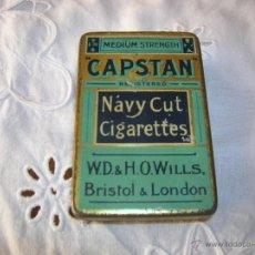 Miniaturas de perfumes antiguos: LATA DE NAVY CUT CIGARETTES. Lote 51020193