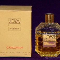 Miniaturas de perfumes antiguos: ANTIGUO FRASCO DE COLONIA. JOYA DE MYRURGIA. ESPAÑA. EN SU CAJA ORIGINAL. Nº578. 1/16.. Lote 191956076
