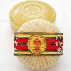 Miniaturas de perfumes antiguos: PASTILLA DE JABON ROGER & GALLET PARIS JASMIN. Lote 51077841